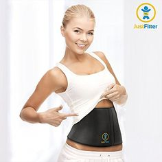 Waist Trimmer Belt For Men  Women  More Fully Adjustable Than Other Waist Slimming Ab Belts  Provides Best Support For Lower Back  Lumbar  Results Guaranteed ** Check this awesome product by going to the link at the image.Note:It is affiliate link to Amazon.