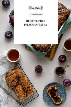 Zum Abschluss der Pflaumenzeit habe ich mich deshalb für ein saftigesPflaumen-Babka mit gerösteten Walnüssen und Zimt-Zucker-Gussentschieden. Richtig lecker sag ich euch! Ein tolles Rezept aus meinerFernwehküche! #babka #pflaumenbabka #hefeteig #backenmithefe #rezepte #backen #hefeteigliebe #hefeteilchen Instagram Feed, Foodblogger, French Toast, Breakfast, Plum Jam, Challah, Sugar, Pineapple Coconut, Cinnamon