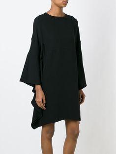 round neck tunic dress