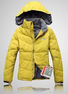 e6da00d1fe The North Face Womens Down Jackets Yellow Abrigo North Face
