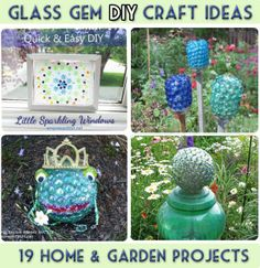 Glass Gem DIY Craft Ideas