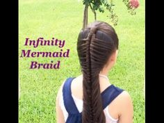 How to do the Messy Mermaid Braid – Lavish Braids Loose Hairstyles, Braided Hairstyles, Butterfly Braid, Best Hairspray, Infinity Braid, Mermaid Braid, Hair Braider, Clip In Extensions, How To Curl Your Hair