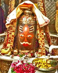 Bhasma Aarti pic of Shree #Mahakal #Ujjain - July 21  Visit the #holy city of #Ujjain - famous for its Temples.