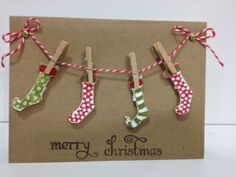 Christmas card...so cute and much fun making it.