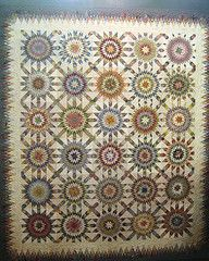 As much as I LOVE quilts like this, I know that I am unable to sit down and devote the time to something this detailed.
