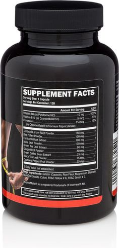 Weight Loss Supplement Facts
