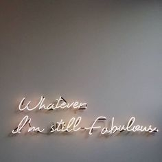 Quotes and Motivation QUOTATION – Image : As the quote says – Description Whatever Words Quotes, Life Quotes, Family Quotes, Quotes Quotes, Relationship Quotes, Funny Quotes, Neon Quotes, Neon Lighting, Lighting Ideas