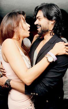 Madhura Naik with Gaurav Chopra at the formers birthday bash #Style #Bollywood #Fashion #Beauty