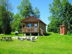 Vacation Cabin / Cottage Rentals on The York River, Bancroft ON Barrie Ontario image 1