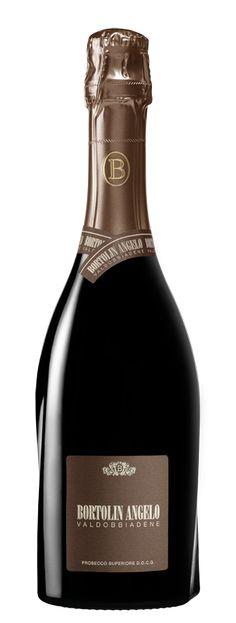 Bortolin Angelo Spumanti S. Wine Design, Label Design, Packaging Design, Bottle Labels, Wine Labels, Angelo, In Vino Veritas, Sparkling Wine, Prosecco