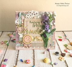 Girly card by Maria Lillepruun