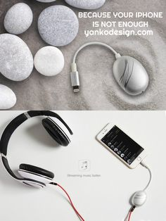 Just plug the Cobble into your phone's lightning port. Compatibility will never be a problem, say the guys behind Cobble's design. Read more at www.yankodesign.com