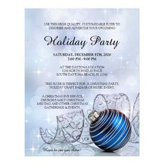 Holiday Party Flyer Template | 34 Best Christmas And Holiday Party Flyers Images On Pinterest In