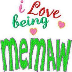 I'm MEMAW to D.J., Sierra & Sheyne. LOVE my grandkids!
