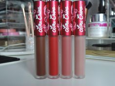 Lime Crime Velvetines Review & Swatches
