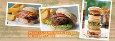 Los 10 mejores lugares de hamburguesas en Buenos Aires Hamburger, Tacos, Mexican, Ethnic Recipes, Food, Be Nice, Buenos Aires, Ethnic Food, Get Well Soon