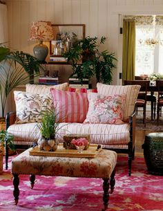 Sorrento Living Family Room TraditionalNeoclassical by Tim Clarke Interior Design Style Cottage, English Cottage Style, Cottage Living, English Style, French Country Rug, English Country Decor, French Decor, Country Charm, French Chic
