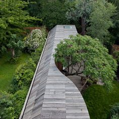Rowan Moore's house- lucky man. Tree House by 6a Architects