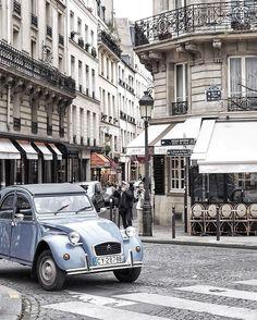 Pretty Parisian streets