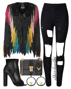 Unbenannt #1004 by elkischnelki on Polyvore featuring polyvore fashion style Tim Ryan Tom Ford Valentino Chanel women's clothing women's fashion women female woman misses juniors