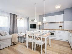Un apartament de 2 camere amenajat in stil provensal