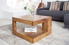 Konferenčný stolík VORTEX 60 cm z masívneho dreva