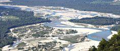 Tagliamento river, near Pordenone. Beautiful landscape photo!