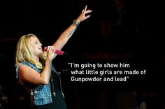 "Miranda Lambert — ""Gunpowder & Lead"" 11 Country Music Lyrics That Prove Women Run The World Country Music Quotes, Country Music Lyrics, Country Music Artists, Country Songs, Country Hits, Song Quotes, Smile Quotes, Happy Quotes, Wisdom Quotes"