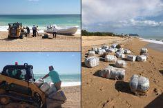 Droga sulla spiaggia: caccia ai narcotrafficanti.Scoperti altri cento kg di droga