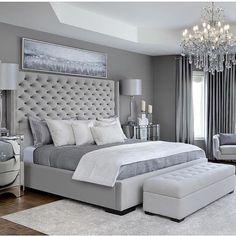 Modern Bedroom Carpet Ideas - Future Home - Bedroom Decor Grey Bedroom Design, Simple Bedroom Design, Modern Grey Bedroom, Bedroom Ideas Grey, Bedroom Sets, Bedroom Décor, Classy Bedroom Ideas, Bedroom Colors, Contemporary Bedroom