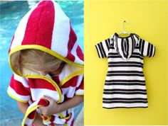 New Beach Robes…plus a Stripey Summer PATTERN SALE – MADE EVERYDAY