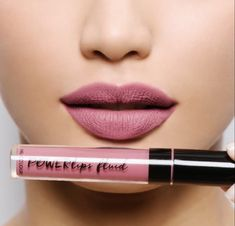 Looking for a new neutral to fall in ❤️ with this spring? We have six new mattes in the Powerlips fam, and I'm loving them all. Gorge colors, and they are packed with avocado oil and beeswax to condition as they last Pictured deep rose Long Lasting Lip Color, Long Lasting Lipstick, Nu Skin, The Blushed Nudes, Makeup Obsession, Nude Lip, Liquid Lipstick, Matte Lipstick, Pink Lips