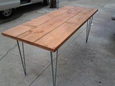 Custom wood tables in SF