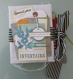 Inventaire - art journal - mini book - ksd s1 2/03/13
