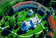 The Studenica monastery (Serbian Cyrillic: Манастир Студеница, Manastir Studenica, Serbian pronunciation: [mânastiːr studɛ̌nit͡sa]) is a 12th-century Serbian Orthodox monastery situated 39 km southwest of Kraljevo, in central Serbia. It is one of the largest and richest Serb Orthodox monasteries.