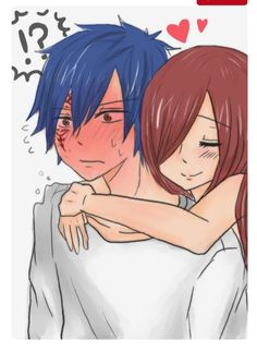 Fairy Tail - Jellal and Erza Erza Y Jellal, Fairytail, Natsu Y Lucy, Gruvia, Fairy Tail Mystogan, Fairy Tail Jellal, Fairy Tail Anime, Nalu, Fairy Tail Love