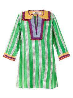 Easton Pearson Take Away Amea Kuta striped silk kaftan Silk Kaftan, Kuta, Summer Wardrobe, Alexander Mcqueen, Women Wear, Boho, Chic, My Style, Kaftans
