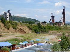 Podkarpatská Rus, Solotvinská jezera a Hoverla Ukraine, Basketball Court