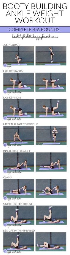 f3f452fc0c42 Booty Building Ankle Weight Workout (Just in time for bikini season!) - Tap  the pin if you love super heroes too! you will LOVE these super hero fitness  ...