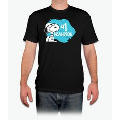 Number One Grandson Snoopy - Men T-Shirt