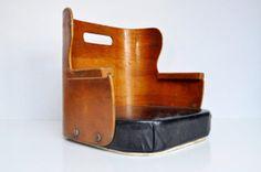 Antique Wooden Booster Seat van thewhitepepper op Etsy