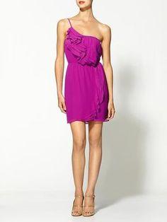 ShopStyle: BCBGeneration Ruffled Layered Dress