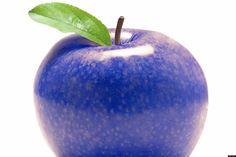 The purple forbidden fruit Blue Carrot, Rotten Fruit, Sour Foods, Orange Drinks, Blue Food Coloring, Forbidden Fruit, Colorful Fruit, Interesting Information, Red Apple