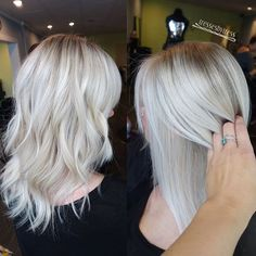 color blonde ice highlights on Instagram