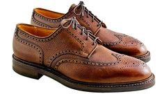 I resolve to invest more in heirloom quality goods — like these Crockett and Jones Pembroke Brogues. Brogue Shoe, Brogues, Sharp Dressed Man, Well Dressed Men, Men Dress, Dress Shoes, Crockett And Jones, Autumn Fashion, Men's Fashion