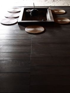 Japanese traditional folk house with rich hues of dark wood. Japanese Home Design, Traditional Japanese House, Japanese Modern, Japanese Interior, Japanese Style, Japanese Homes, Japanese Minimalism, Chinese Style, Irori