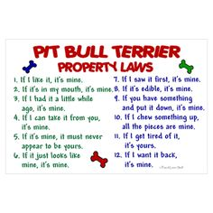 If you own a pit, you'll find this hilariously true.