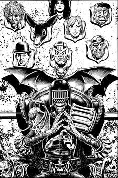 Judge Death - Chris Weston
