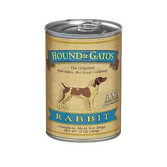 Hound and Gatos Rabbit Can Dog Food 12pk -- Be sure to check out this awesome product.