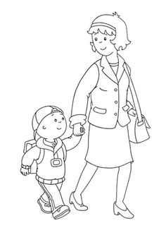 The Most Popular Caillou Malvorlagen Ideas Are On Pinterest